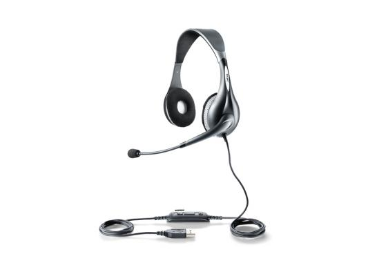 Гарнитура Jabra UC VOICE 150 Duo USB NC WB 1599-829-209 voip оборудование jabra speak 510 uc bluetooth usb nc wb 7510 209