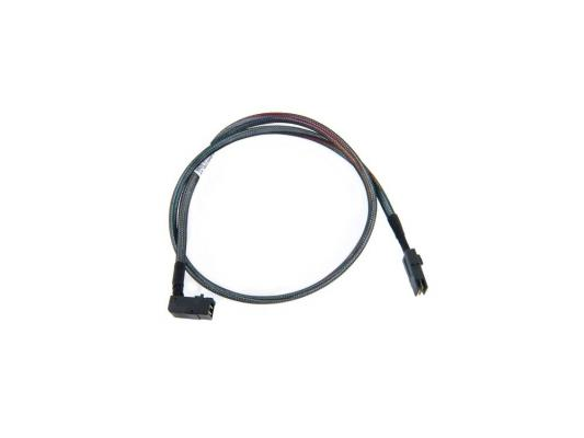 Кабель Adaptec ACK-I-rA-HDmSAS-mSAS-0.8M 80см кабель интерфейсный sas adaptec ack i hdmsas hdmsas 0 5m 0 5м 2282200 r