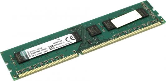 Оперативная память 8Gb (1x8Gb) PC3-12800 1600MHz DDR3 DIMM CL11 Kingston KVR16N11H/8 оперативная память dimm ddr3 kingston 8gb pc3 12800 1600mhz kvr16n11s8k2 8