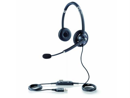 Гарнитура Jabra UC VOICE 750 Duo USB MS NC WB DARK 7599-823-309