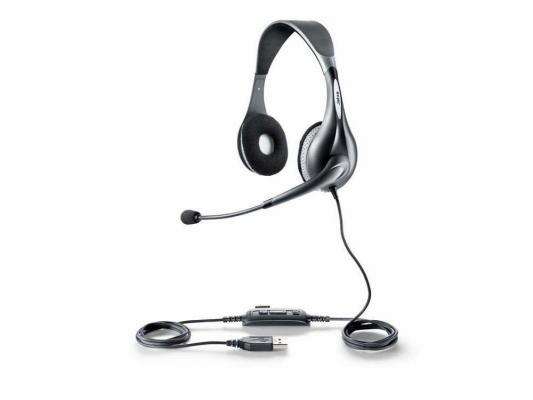 Гарнитура Jabra UC VOICE 150 Duo USB MS NC WB 1599-823-109 гарнитура jabra uc voice 550 mono usb nc wb 5593 829 209