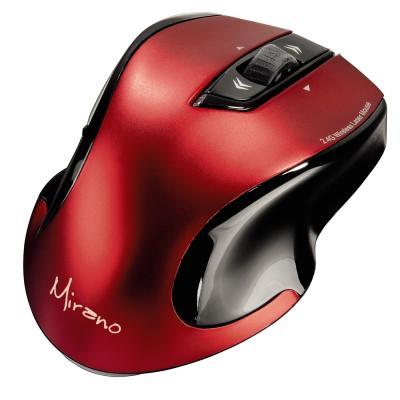 Мышь HAMA Mirano H-53877 черный/красный USB