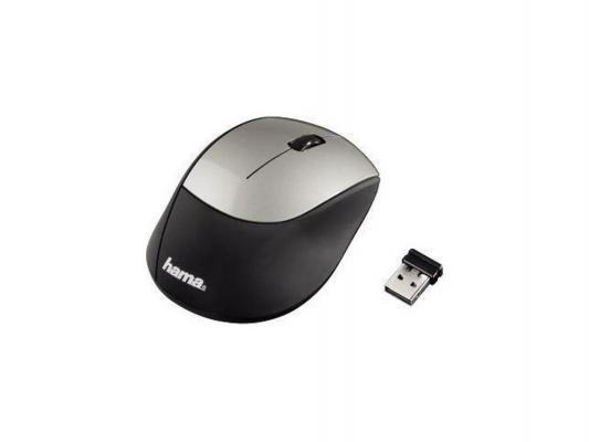 Мышь HAMA H-53854 M2150 черный/серебристый USB