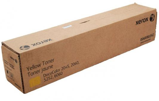 Тонер-Картридж Xerox 006R90292 для DC 6060/2045/60/5252 желтый цены онлайн