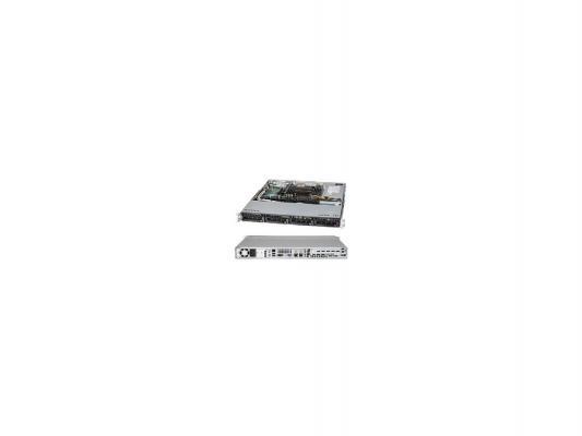 Серверный корпус 1U Supermicro CSE-113TQ-R700WB 700 Вт чёрный