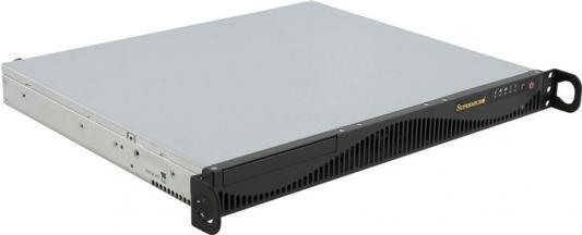 Серверный корпус 1U Supermicro CSE-512F-441B 480 Вт чёрный