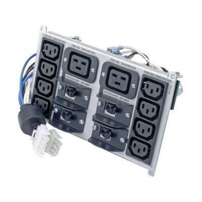 APC Symmetra RM 220-240V Backplate Kit w/(8) IEC320 C13 & (2) IEC320 C19 SYPD4