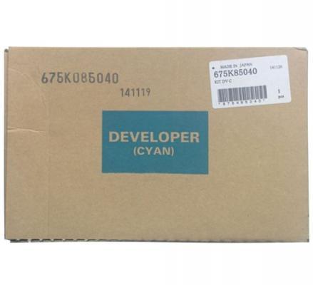 Девелопер Xerox 675K85040 для WC 7556 голубой девелопер xerox 675k85060 для wc 7556 желтый