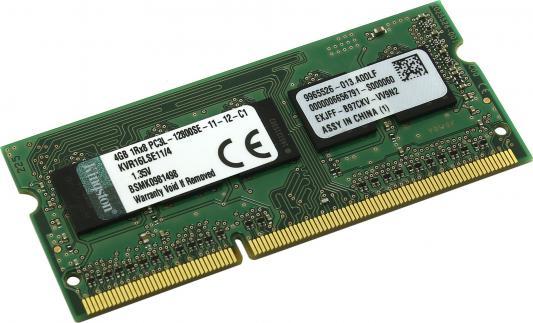 Оперативная память для ноутбуков SO-DDR3 4Gb PC12800 1600MHz Kingston ECC CL11 KVR16LSE11/4