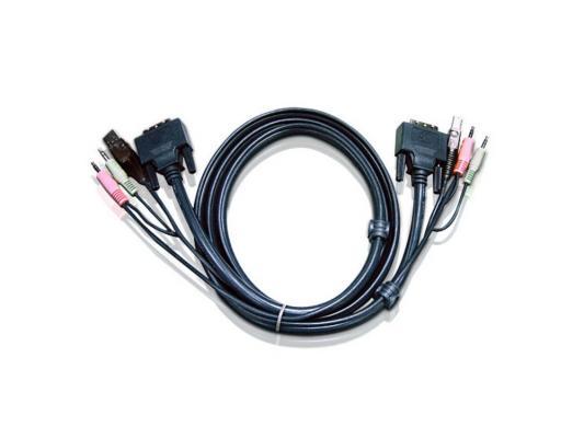 Кабель ATEN 2L-7D02UD DVI/USB B/MC.SP-DVI/USB A 1.8м