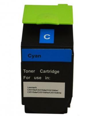 Тонер-Картридж Lexmark 80C8HCE для CX310/410/510 голубой 3000стр тонер картридж lexmark c950x2kg black для c950