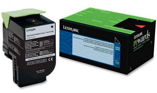 Тонер-Картридж Lexmark 80C8HKE для CX310/410/510 чёрный 4000стр compatible toner lexmark c930 c935 printer laser use for lexmark refill toner c940 c945 toner bulk toner powder for lexmark x940