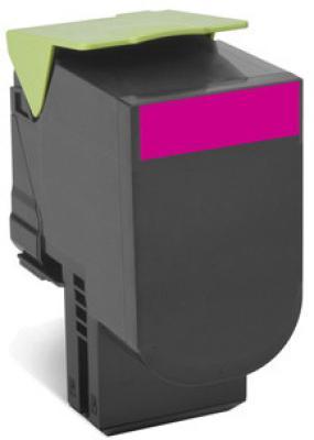 Тонер-Картридж Lexmark 80C8HME для CX310/410/510 пурпурный 3000стр тонер lexmark 10b042y yellow