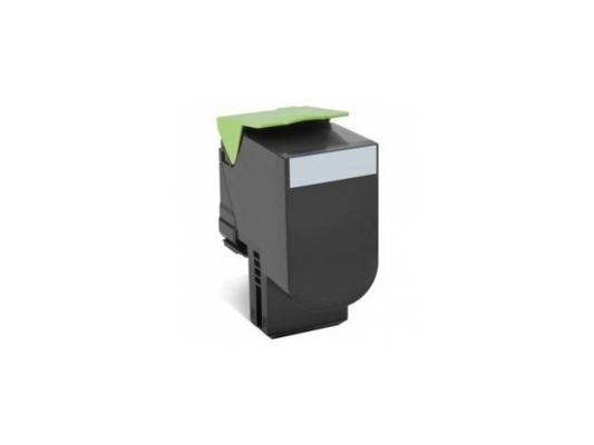 Тонер-Картридж Lexmark 80C8XK0 для CX510x черный 8000стр тонер картридж для лазерных аппаратов lexmark черный для cs310 cs410 cs510 70c8hke