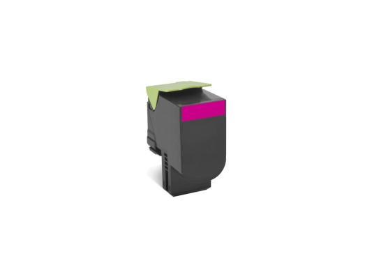 Тонер-Картридж Lexmark 80C8XM0 для CX510x пурпурный 4000стр тонер lexmark 10b042y yellow