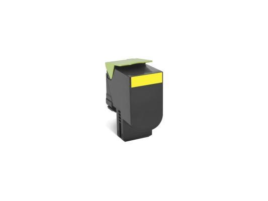 Тонер-Картридж Lexmark 80C8XY0 для CX510x желтый 4000стр тонер lexmark 10b042y yellow