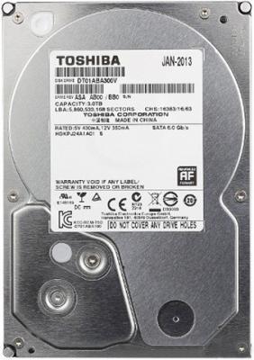 "Жесткий диск 3.5"" 3Tb 5940rpm 32Mb Toshiba SATAIII DT01ABA300V"