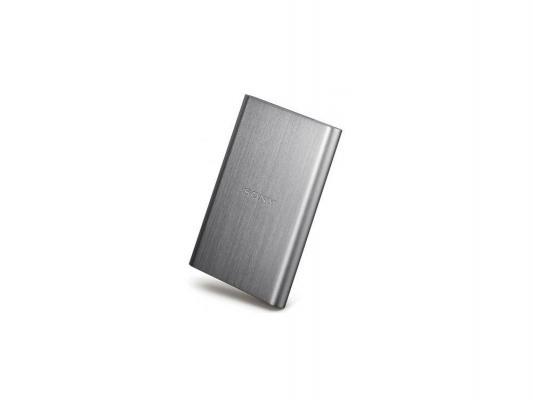 """Внешний жесткий диск 2.5"""" USB3.0 1Tb Sony HD-E1S 1TB серебристый"""