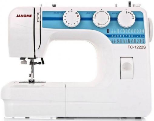 Швейная машина Janome TC 1222S белый швейная машинка janome tc 1216s