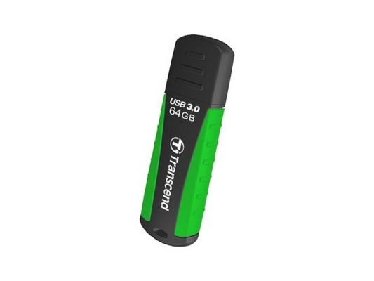 Флешка USB 64Gb Transcend Jetflash 810 TS64GJF810 черный/зеленый флешка usb 64gb transcend jetflash 730 usb3 0 ts64gjf730
