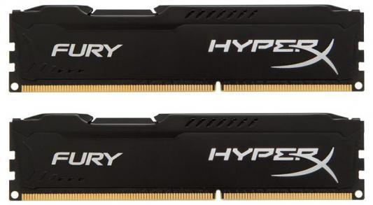Оперативная память 16Gb (2x8Gb) PC3-10600 1333MHz DDR3 DIMM CL9 Kingston HX313C9FBK2/16 HyperX FURY Black Series