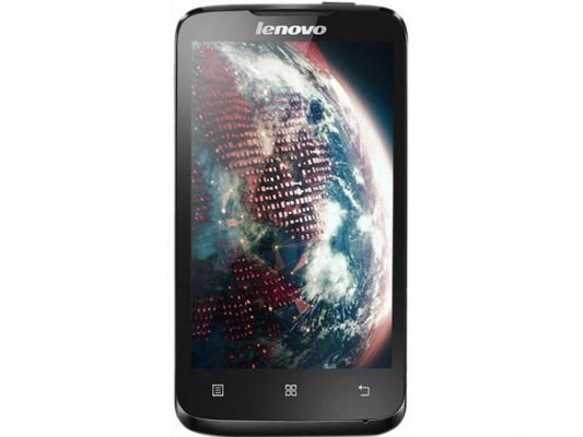 Смартфон Lenovo A316i черный — 4 Гб GPS Wi-Fi P0Q30007RU