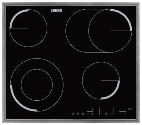 Варочная панель электрическая Zanussi ZEV6646XBA черный