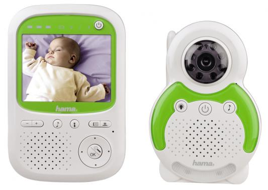 Видеоняня Hama BM150 до 3-х камер бело-зеленый