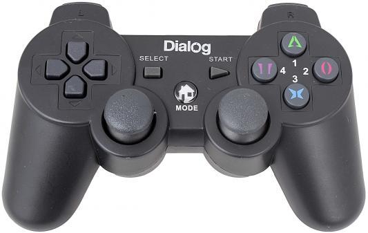Геймпад Dialog Action GP-A17 вибрация черный USB