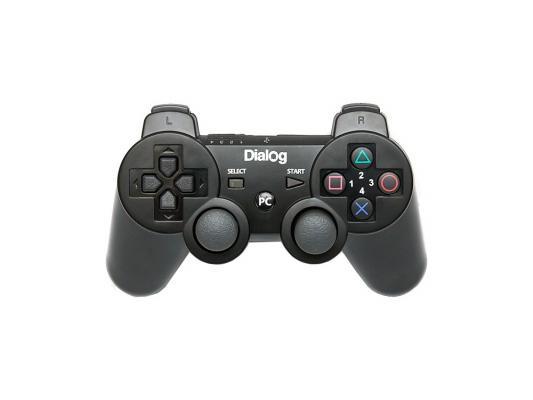 Геймпад Dialog Action GP-A17RF вибрация черный USB