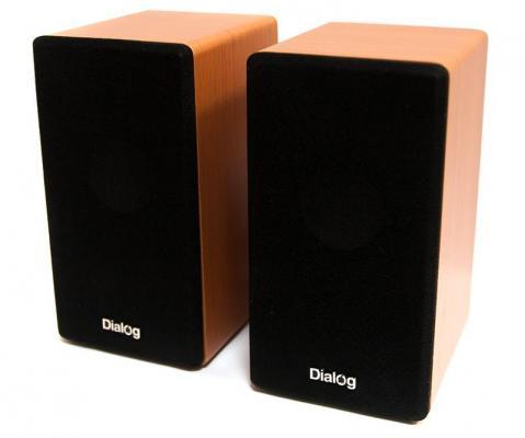 Колонки Dialog Stride AST-20UP 6W USB ореховый колонка dialog stride ast 30up black