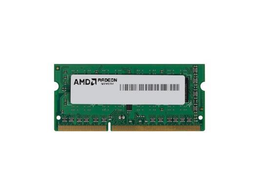 Оперативная память для ноутбуков SO-DDR3 4Gb PC12800 1600MHz AMD R534G1601S1S-UGO OEM модуль памяти amd r534g1601s1s ugo ddr3 4гб 1600 so dimm oem