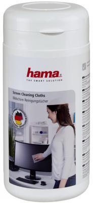 Влажные салфетки HAMA H-42212 100 шт