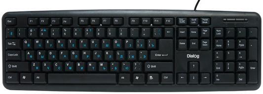 Клавиатура Dialog Standart KS-020U USB черный