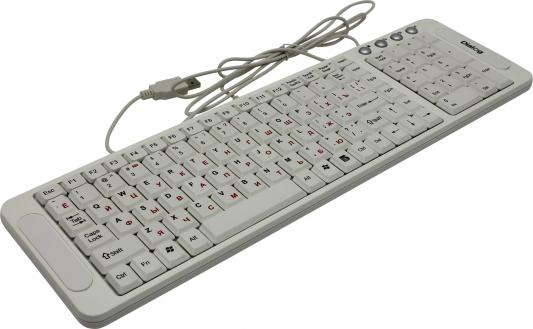 Клавиатура Dialog Katana KK-03U USB белый