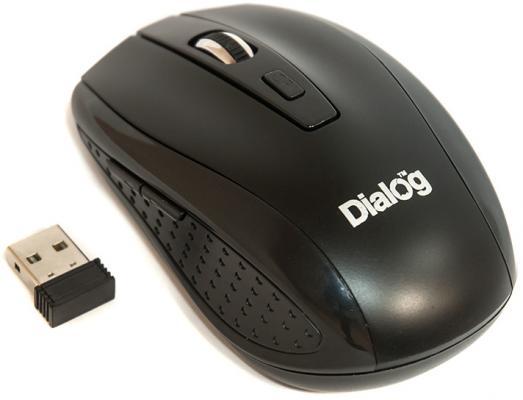 Мышь беспроводная Dialog Pointer RF MROP-01U чёрный USB