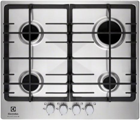 Варочная панель газовая Electrolux EGG96342NX серебристый