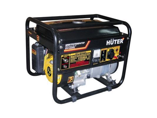 Генератор Huter DY4000L 2800Вт генератор бензиновый huter dy4000l