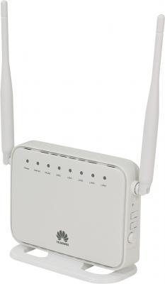 Маршрутизатор Huawei HG232F 802.11bgn 300Mbps 2.4 ГГц 4xLAN белый