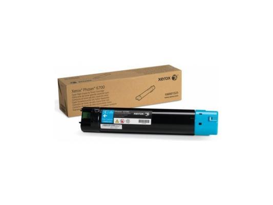 Картридж Xerox 106R01523 для PH 6700 N повышенной емкости голубой