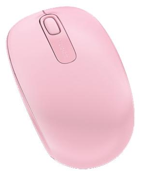 Мышь беспроводная Microsoft Wireless Mobile Mouse 1850 розовый USB U7Z-00024 Light Orchid