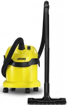 Пылесос Karcher MV2 с мешком сухая уборка 1200Вт желтый
