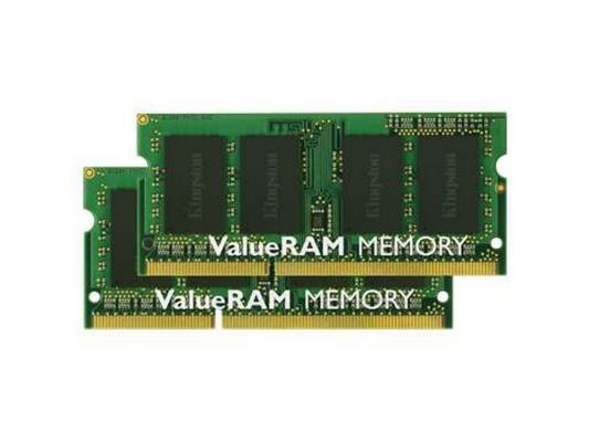 Оперативная память для ноутбука 16Gb (2x8Gb) PC3-10600 1333MHz DDR3 SO-DIMM CL9 Kingston KVR13S9K2/16 цена