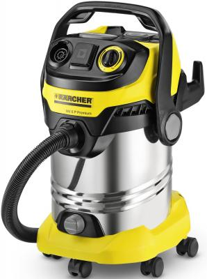 Пылесос Karcher MV(WD) 6 P Premium с мешком сухая уборка 1300Вт желтый 1.348-270.0 пылесос karcher vc6 600вт желтый черный