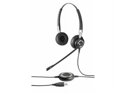 Купить Гарнитура Jabra BIZ 2400 Duo E-HS NC NB 2409-890-104