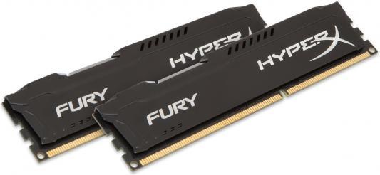 Оперативная память 8Gb (2x4Gb) PC3-10600 1333MHz DDR3 DIMM CL9 Kingston HX313C9FBK2/8 HyperX FURY Black Series