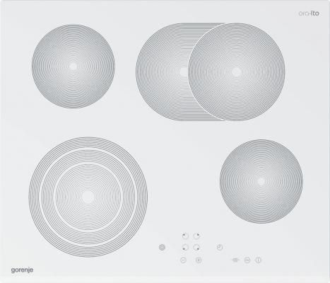 Варочная панель электрическая Gorenje ECT680-ORA-W белый