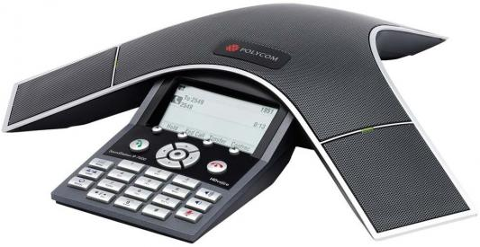 Телефон IP Polycom SoundStation IP7000 SIP для конференций черный 2230-40300-122