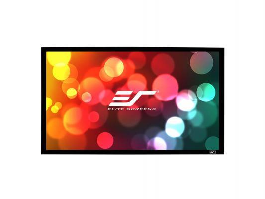"Экран настенный Elite Screens ER100WH1 100"" 16:9 124х221см настенный черный"