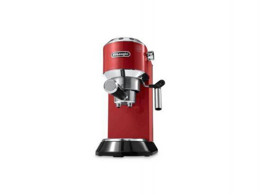 Кофемашина Delonghi EC 680.R металл красный